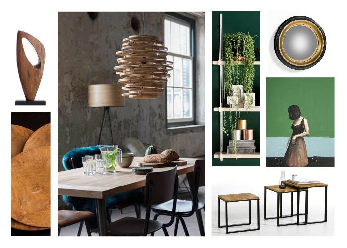 Wood and Green Ambiance