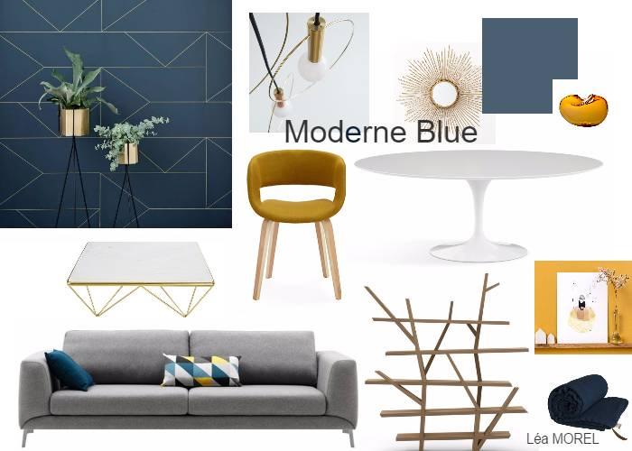 pi ce vivre moderne blue toutes les planches setmystyle partagez vos planches tendances. Black Bedroom Furniture Sets. Home Design Ideas