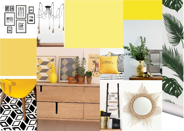Ambiance Yellow Style chez by Cactus