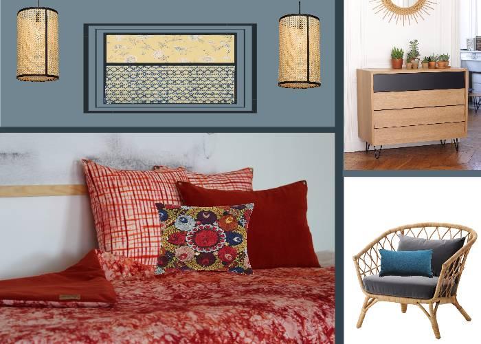 ma chambre boh me toutes les planches setmystyle partagez vos planches tendances. Black Bedroom Furniture Sets. Home Design Ideas