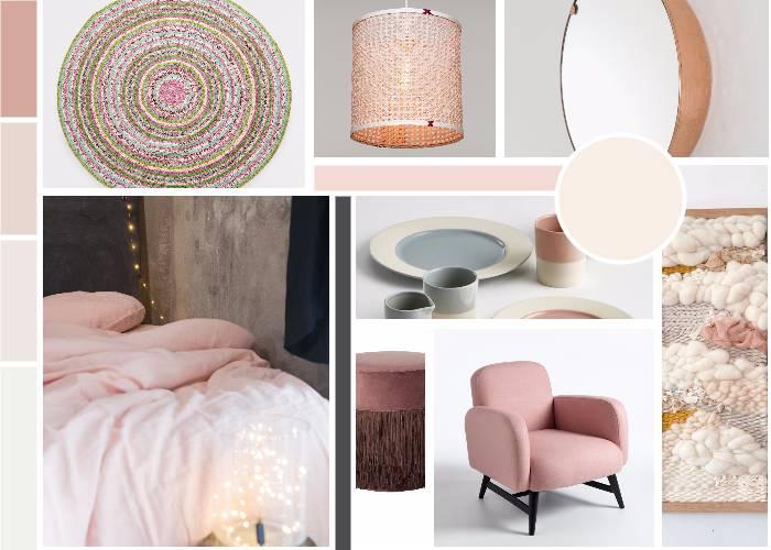 chambre rose poudre toutes les planches setmystyle partagez vos planches tendances. Black Bedroom Furniture Sets. Home Design Ideas