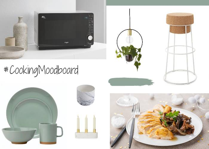 My cooking mood board