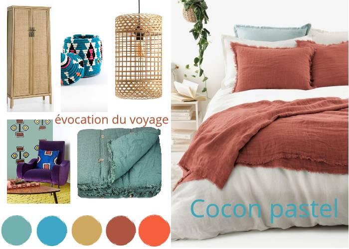 chambre ethnique pastel toutes les planches setmystyle partagez vos planches tendances. Black Bedroom Furniture Sets. Home Design Ideas