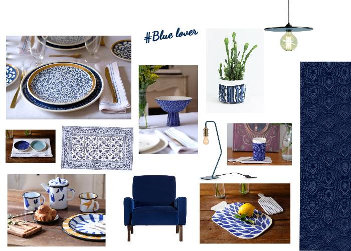 Blue lover by Maison Levantine