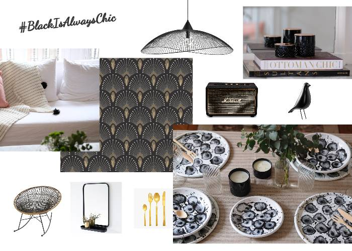 Black is always chic by Maison Levantine