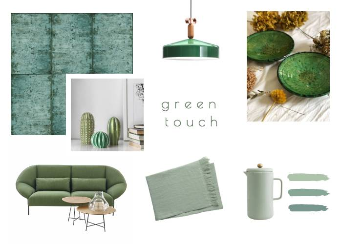 Green Touch, quand la nature s'installe...