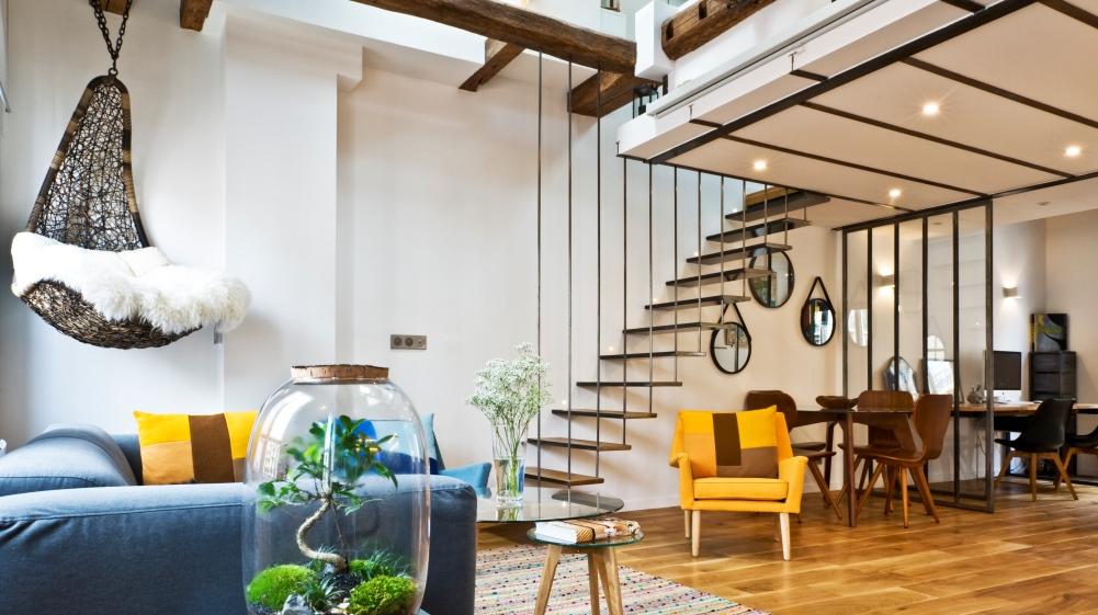 Setmystyle Visite Un Appartement Qui Prend De La Hauteur