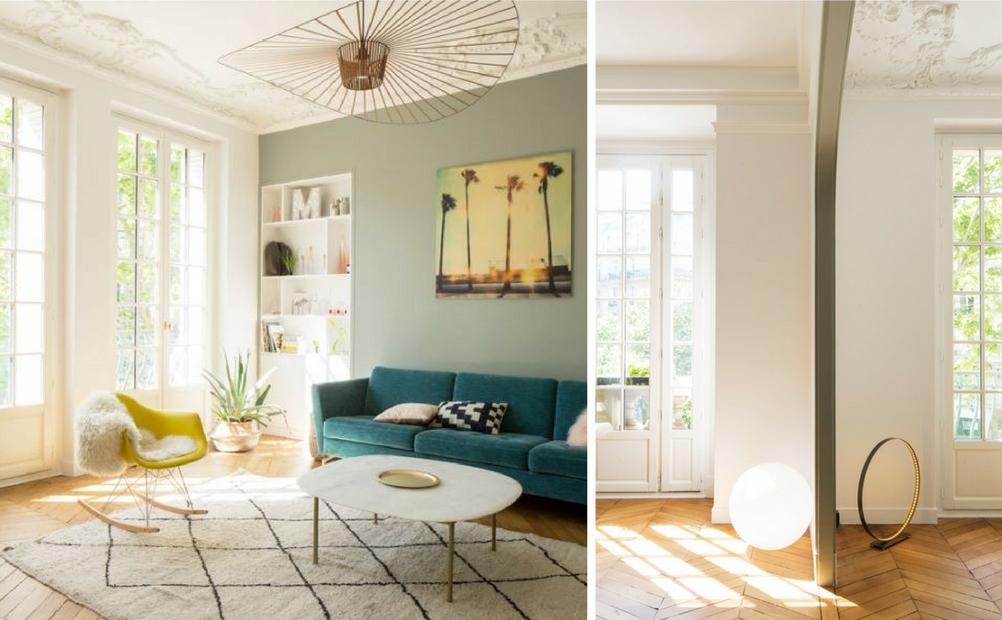 setmystyle vous emm ne dans un appartement chic et pur actualit s par cendrine domingez. Black Bedroom Furniture Sets. Home Design Ideas