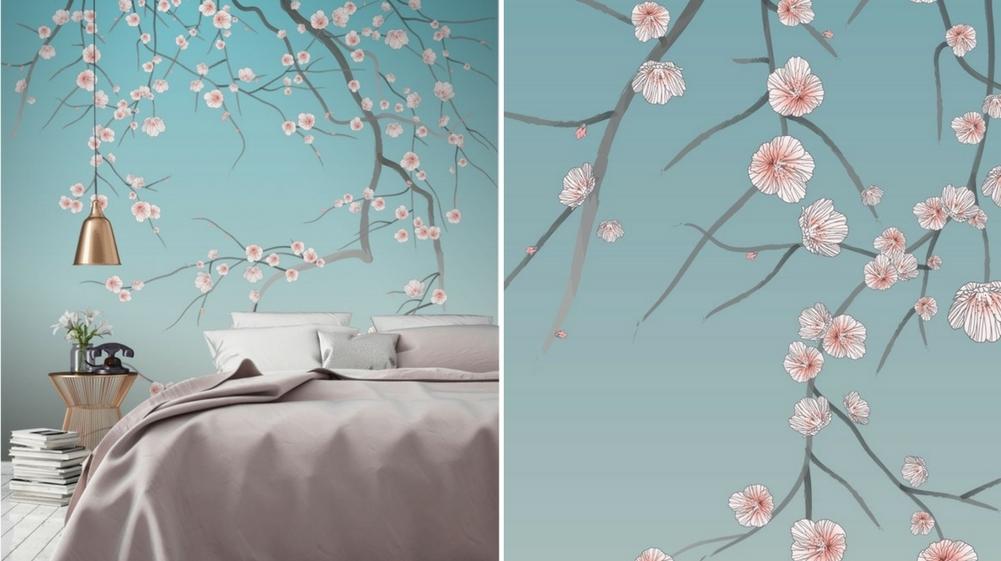 Les Motifs Japonais Seigaiha Et Sakura Reperes Par Les Stylers