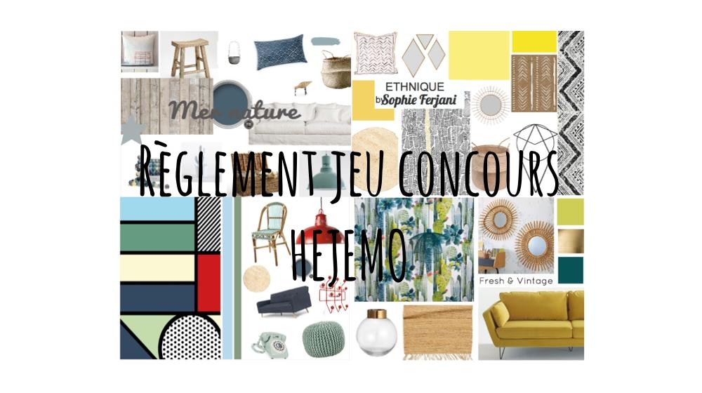 r glement des jeux concours hejemo actualit s par cendrine domingez setmystyle partagez. Black Bedroom Furniture Sets. Home Design Ideas