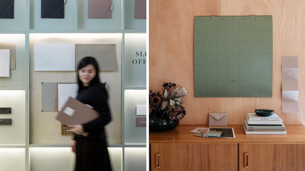 le slow design au bureau avec la petite papeterie fran aise actualit s par cendrine domingez. Black Bedroom Furniture Sets. Home Design Ideas